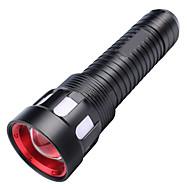 preiswerte Taschenlampen, Laternen & Lichter-U'King LED Taschenlampen LED LED Sender 2000 lm 5 Beleuchtungsmodus Zoomable-, Alarm, einstellbarer Fokus Camping / Wandern / Erkundungen, Für den täglichen Einsatz, Natur