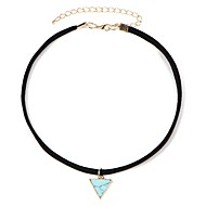 Women's Classic Choker Necklace Resin Ladies Doll's Lolita Beige Turquoise 30+5 cm Necklace Jewelry 1pc For Daily Festival