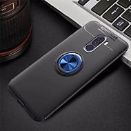 preiswerte Handyhüllen-Hülle Für Xiaomi Xiaomi Pocophone F1 Ring - Haltevorrichtung / Ultra dünn Rückseite Solide Weich TPU für Xiaomi Pocophone F1