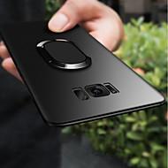 Недорогие Чехлы и кейсы для Galaxy S-Кейс для Назначение SSamsung Galaxy S9 Plus / S9 Кольца-держатели / Ультратонкий / Матовое Кейс на заднюю панель Однотонный Мягкий ТПУ для S9 / S9 Plus / S8 Plus