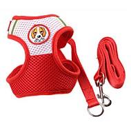 Cachorros Roupa Arreios Trelas Treinador Caminhada Colete Animal Personagem Tecido Roxo Vermelho Azul