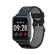 お買い得  -BoZhuo SN60 PRO 男女兼用 スマートブレスレット Android iOS ブルートゥース スポーツ 防水 心拍計 血圧測定 消費カロリー 歩数計 着信通知 睡眠サイクル計測器 座りがちなリマインダー 端末検索 / 目覚まし時計