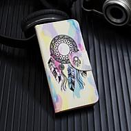 Недорогие Кейсы для iPhone 8 Plus-Кейс для Назначение Apple iPhone XS / iPhone XS Max Флип / С узором Чехол Ловец снов Твердый Кожа PU для iPhone XS / iPhone XR / iPhone XS Max