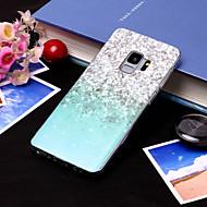 Недорогие Чехлы и кейсы для Galaxy S9-Кейс для Назначение SSamsung Galaxy S9 Plus / S9 IMD / С узором Кейс на заднюю панель Градиент цвета Мягкий ТПУ для S9 / S9 Plus / S8 Plus