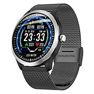 cheap -Indear N58 Smart Bracelet Smartwatch Android iOS Bluetooth Sports Waterproof Heart Rate Monitor Blood Pressure Measurement ECG+PPG Pedometer Call Reminder Activity Tracker Sleep Tracker / Alarm Clock
