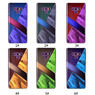Недорогие Чехлы и кейсы для Galaxy Note 8-Кейс для Назначение SSamsung Galaxy Note 9 / Note 8 С узором Кейс на заднюю панель Мрамор Мягкий ТПУ для Note 9 / Note 8