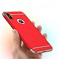 Недорогие Кейсы для iPhone 8-Кейс для Назначение Apple iPhone XR / iPhone XS Max Покрытие / Матовое Кейс на заднюю панель Однотонный Твердый ПК для iPhone XS / iPhone XR / iPhone XS Max