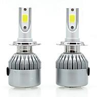 halpa -SENCART 2pcs 880/896 / H7 / H3 Moottoripyörä / Auto Lamput 36 W Integroitu LED / COB 3800 lm 2 LED / Halogeeni Sumuvalot / Huomiovalot / Ajovalo Käyttötarkoitus