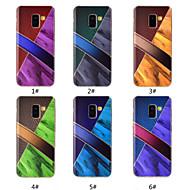 Недорогие Чехлы и кейсы для Galaxy А-Кейс для Назначение SSamsung Galaxy A8 Plus 2018 / A8 2018 С узором Кейс на заднюю панель Мрамор Мягкий ТПУ для A5(2018) / A6 (2018) / A6+ (2018)