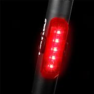preiswerte Taschenlampen, Laternen & Lichter-Fahrradrücklicht LED Radlichter Radsport Wasserfest, Schnellspanner, Leicht Wiederaufladbare Li-Ion Batterie 80 lm Rot Polizei / Militär / Radsport