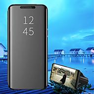 Etui Til Xiaomi Xiaomi Pocophone F1 / Mi 8 Med stativ / Belægning / Spejl Fuldt etui Ensfarvet Hårdt PU Læder for Xiaomi Pocophone F1 / Xiaomi Mi 8 / Xiaomi Mi 8 SE