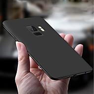 Недорогие Чехлы и кейсы для Galaxy S9 Plus-Кейс для Назначение SSamsung Galaxy S9 Plus / S9 Ультратонкий / Матовое Кейс на заднюю панель Однотонный Мягкий ТПУ для S9 / S9 Plus / S8 Plus