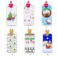 お買い得  携帯電話ケース-ケース 用途 Huawei P20 Pro / P20 lite パターン / DIY バックカバー クリスマス ソフト TPU のために Huawei P20 / Huawei P20 Pro / Huawei P20 lite / P10 Lite / P10