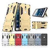 お買い得  携帯電話ケース-ケース 用途 Nokia Nokia 7 耐衝撃 / スタンド付き バックカバー ソリッド / 鎧 ハード PC のために Nokia 7
