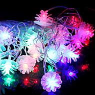 cheap -3m String Lights 28 LEDs Multi Color Decorative AA Batteries Powered 1 set
