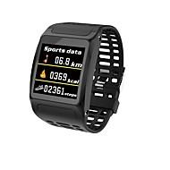 billige -Smart Armbånd Indear-Z01 for Android iOS Bluetooth Sport Vandtæt Pulsmåler Blodtryksmåling Touch-skærm Skridtæller Samtalepåmindelse Aktivitetstracker Sleeptracker