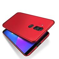 お買い得  携帯電話ケース-ケース 用途 Huawei Huawei Mate 20 Lite 超薄型 / つや消し バックカバー ソリッド ハード PC のために Mate 10 / Mate 10 pro / Mate 10 lite