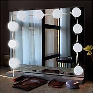 billige -BRELONG® 1set LED Night Light Hvid Vekselstrøm Vandtæt / Dekorativ / EU 85-265 V