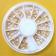 abordables -1 pcs Bijoux pour ongles Multi Fonction / Meilleure qualité Créatif Manucure Manucure pédicure Noël / Quotidien Branché / Mode