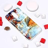 お買い得  携帯電話ケース-ケース 用途 LG V30 / G7 パターン バックカバー マーブル ソフト TPU のために LG V30 / LG K10 2018 / LG K10(2017)
