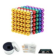 cheap -216 pcs 3mm Magnet Toy Magnetic Balls Magnet Toy Super Strong Rare-Earth Magnets Magnetic Stress and Anxiety Relief Office Desk Toys Relieves ADD, ADHD, Anxiety, Autism Novelty Teenager / Adults' All