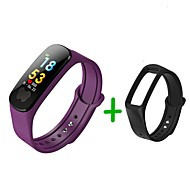 cheap -KUPENG B37S Smart Bracelet Smartwatch Android iOS Bluetooth Smart Sports Waterproof Heart Rate Monitor Pedometer Call Reminder Activity Tracker Sleep Tracker Sedentary Reminder / Touch Screen