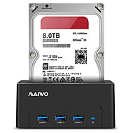 お買い得  -MAIWO ハードドライブエンクロージャ ABS樹脂 USB 3.0 K308H