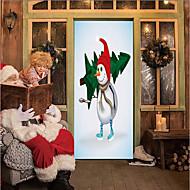 billige -Dørklister - 3D mur klistermærker Jul / Ferier Indendørs / Udendørs