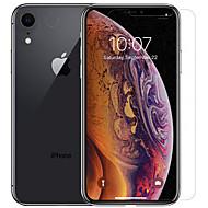 Недорогие Защитные плёнки для экрана iPhone-Nillkin Защитная плёнка для экрана для Apple iPhone XR PET 1 ед. Протектор объектива спереди и камеры HD / Бриллиантовый блеск / Зеркальная поверхность