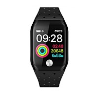 cheap -KUPENG A88S Smartwatch Android iOS Bluetooth Smart Waterproof Heart Rate Monitor Blood Pressure Measurement Pedometer Call Reminder Activity Tracker Sleep Tracker Sedentary Reminder / Touch Screen