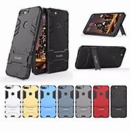 preiswerte Handyhüllen-Hülle Für Huawei Honor 7C(Enjoy 8) Stoßresistent / mit Halterung Rückseite Solide Hart PC für Honor 7C(Enjoy 8)