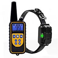 abordables Accesorios para Mascota-Perros Cuello / Entrenamiento Antiladrido / Eléctrico / LCD Clásico Metalic / El plastico Negro