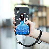 Недорогие Кейсы для iPhone 8 Plus-Кейс для Назначение Apple iPhone XR / iPhone XS Max С узором Кейс на заднюю панель Соблазнительная девушка Мягкий ТПУ для iPhone XS / iPhone XR / iPhone XS Max
