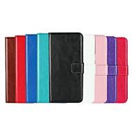 abordables Galaxy S5 Mini Carcasas / Fundas-Funda Para Samsung Galaxy S9 Plus / S8 Plus Soporte de Coche / con Soporte / Flip Funda de Cuerpo Entero Un Color Dura Cuero de PU para S9 / S9 Plus / S8 Plus