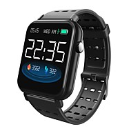 cheap -Indear Y6pro Smart Bracelet Smartwatch Android iOS Bluetooth Smart Sports Waterproof Heart Rate Monitor Pedometer Call Reminder Activity Tracker Sleep Tracker Sedentary Reminder / Touch Screen