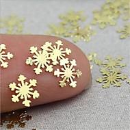 abordables -100 pcs Paillettes Multi Fonction / Meilleure qualité Créatif Flocon de Neige Manucure Manucure pédicure Noël / Quotidien Mode