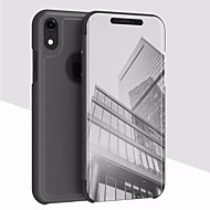 cheap iPhone 8 Plus Cases-Case For Apple iPhone XR / iPhone XS Max with Stand / Plating / Mirror Back Cover Solid Colored Hard Acrylic for iPhone XS / iPhone XR / iPhone XS Max