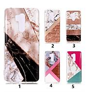 お買い得  携帯電話ケース-ケース 用途 LG K10 2018 / G7 IMD / パターン バックカバー マーブル ソフト TPU のために LG V30 / LG Q6 / LG K10 2018