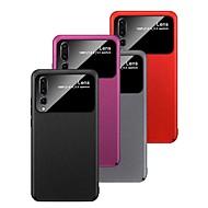 お買い得  携帯電話ケース-ケース 用途 Huawei P20 / P20 lite つや消し バックカバー ソリッド ハード PC のために Huawei Nova 3i / Huawei P20 / Huawei P20 Pro