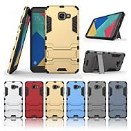 abordables Galaxy A5(2016) Carcasas / Fundas-Funda Para Samsung Galaxy A5(2016) Antigolpes / con Soporte Funda Trasera Un Color Dura ordenador personal para A5(2016)