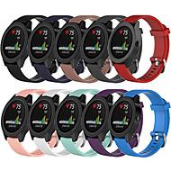 Недорогие Аксессуары для смарт-часов-Ремешок для часов для vivomove / vivomove HR / Vivoactive 3 Garmin Спортивный ремешок силиконовый Повязка на запястье