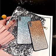 voordelige iPhone XS Max hoesjes-hoesje Voor Apple iPhone X / iPhone XS Max Glitterglans Achterkant Glitterglans Hard PC voor iPhone XS / iPhone XR / iPhone XS Max