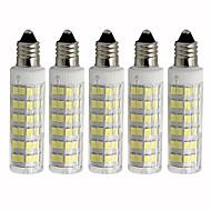 abordables Bombillas LED de Mazorca-5pcs 4.5 W 450 lm E11 Bombillas LED de Mazorca T 76 Cuentas LED SMD 2835 Regulable Blanco Cálido / Blanco Fresco 110 V
