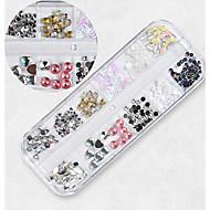 ราคาถูก -1 pcs เครื่องประดับเล็บ พลอยเทียม Universal / แปลกใหม่ ธีมคลาสสิก Creative เล็บ ทำเล็บมือเล็บเท้า ทุกวัน / เทศกาล เกาหลี / แฟชั่น