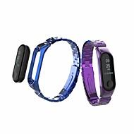 Недорогие Ремешки для часов Xiaomi-Ремешок для часов для Mi Band 3 Xiaomi Спортивный ремешок Металл / Нержавеющая сталь Повязка на запястье