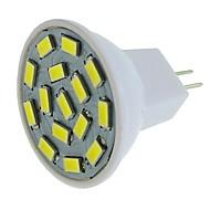 SENCART 1pc / 6 ชิ้น 6W 450lm G4 / MR11 LED สปอตไลท์ MR11 15 ลูกปัด LED SMD 5630 ตกแต่ง ขาวนวล / White / น้ำเงิน 12-24V
