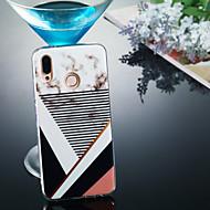 preiswerte Handyhüllen-Hülle Für Huawei P20 Pro / P20 lite IMD / Muster Rückseite Marmor Weich TPU für Huawei P20 / Huawei P20 Pro / Huawei P20 lite