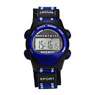ieftine Ceasuri Bărbați-femei Ceas Sport Ceas digital Digital Violet Rezistent la Apă Piloane de Menținut Carnea Charm Modă - Albastru Roz Gri Un an Durată de Viaţă Baterie / Tianqiu 377