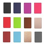preiswerte Tablet Zubehör-Hülle Für Amazon Kindle PaperWhite 4 Stoßresistent / mit Halterung / Magnetisch Ganzkörper-Gehäuse Solide Hart PU-Leder für Kindle PaperWhite 4
