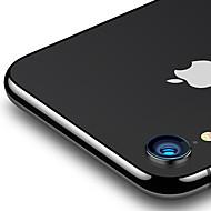 Недорогие Защитные плёнки для экрана iPhone-Защитная плёнка для экрана для Apple iPhone XR Закаленное стекло 1 ед. Протектор объектива камеры HD / Уровень защиты 9H / Против отпечатков пальцев